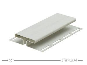 H-профиль для винилового сайдинга, цвет пломбир