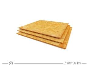 ориентированно-стружечная плита Калевала 3