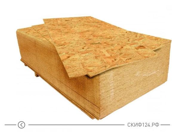 Стружечная плита для строительных работ на даче