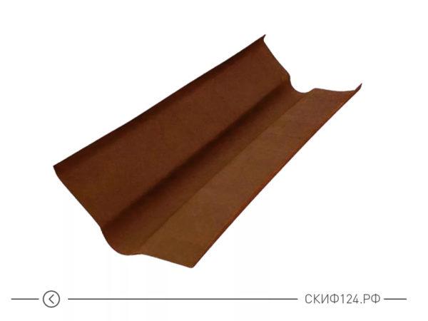 Ендова коричневая для кровли из Ондулина