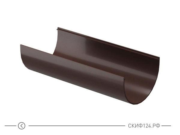 Желоб водосточный цвет шоколад производителя Docke