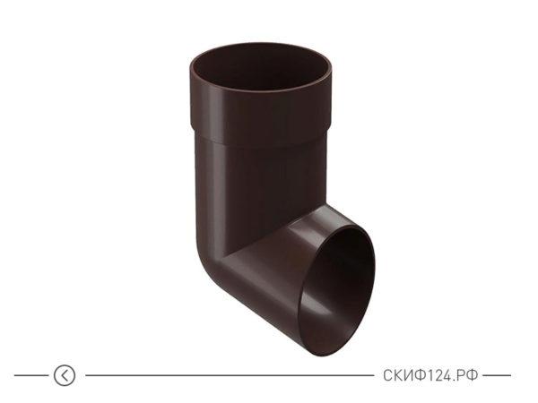 Наконечник для отвода воды производителя Docke, цвет шоколад
