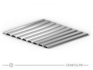 Оцинкованный профилированный лист МП-20, высота 18 мм