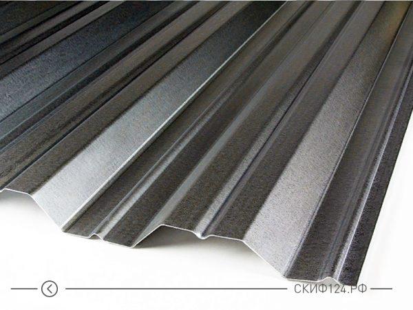 Оцинкованный профилированный лист НС-35 на складе производителя, фото