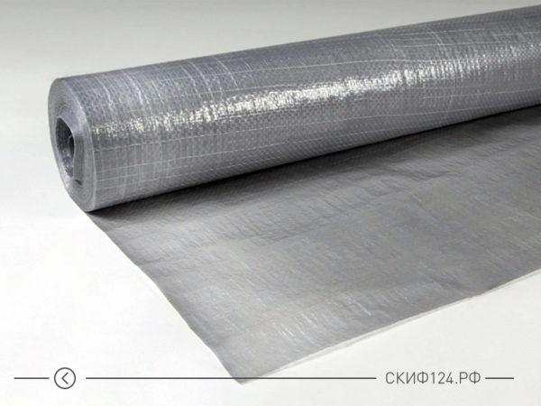 Пленка пароизоляционная Н96 Сильвер в рулоне, фото внешнего вида
