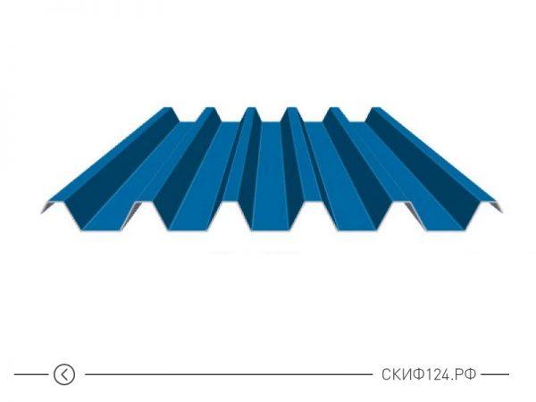 Профилированный лист С-44 с полимерным покрытием для фасада