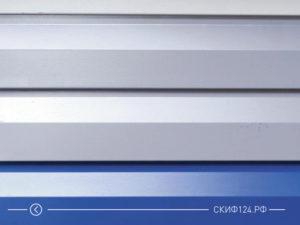 Сайдинг металлический корабельная доска для фасада дома производителя Металл Профиль