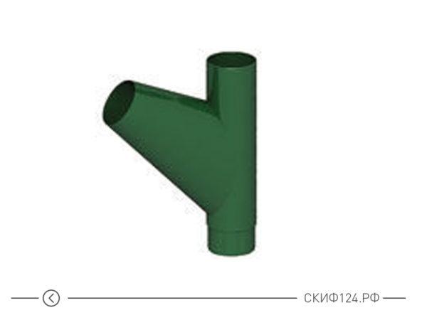 Тройник трубы для водосточной системы D100