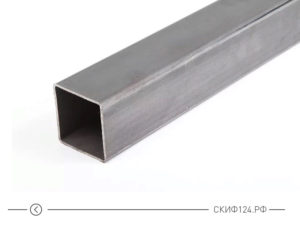 Труба профильная 60x60 для заборка и калитки