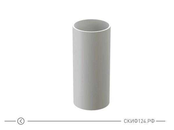Труба водосточная производителя Docke цвет пломбир