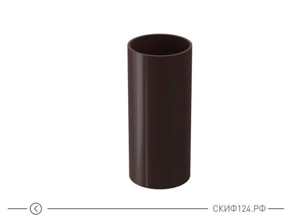 Труба водосточная производителя Docke цвет шоколад