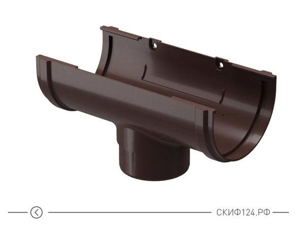 Воронка для водоотвода производителя Docke, цвет шоколад