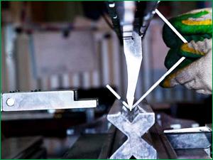 Производство гибочных изделий на заводе