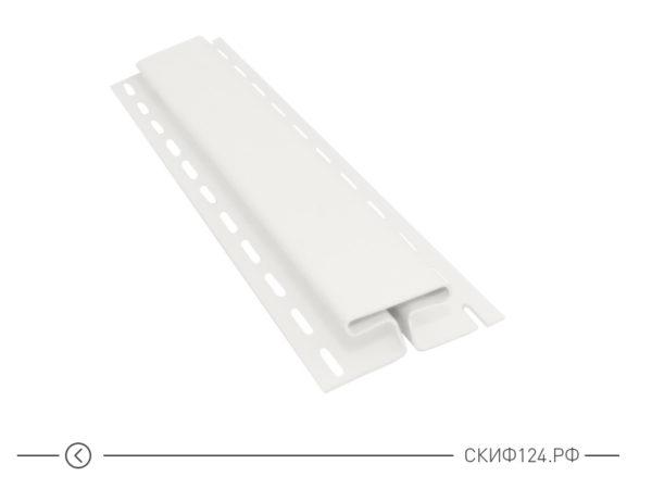 H-профиль для винилового сайдинга Vinylon цвет белый