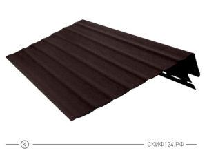 Карнизная доска для винилового сайдинга Vinylon цвет кофе
