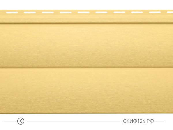 Горизонтальный сайдинг для дома от производителя Vinylon серия Блок Хаус цвет мед