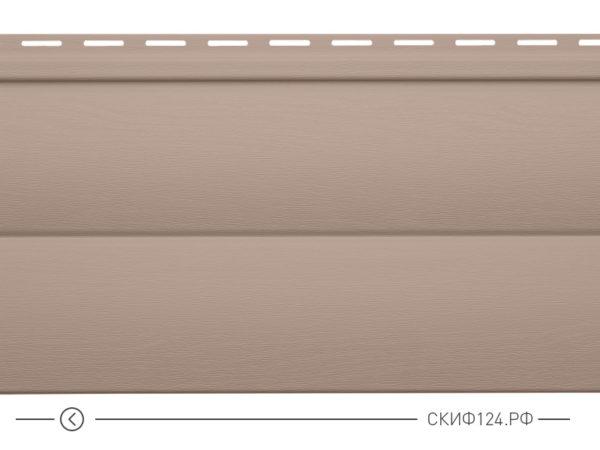 Горизонтальный сайдинг для дома от производителя Vinylon серия Блок Хаус цвет сандаловое дерево