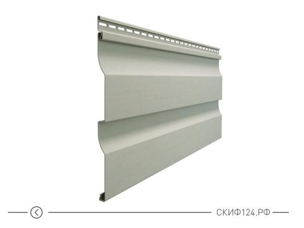 Горизонтальный виниловый сайдинг для отделки фасада дома Корабельный брус цвет халва