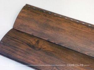 Сайдинг Woodstok цвет Матовый моренный дуб