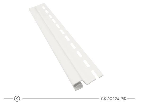 Стартовая планка для винилового сайдинга Vinylon цвет белый