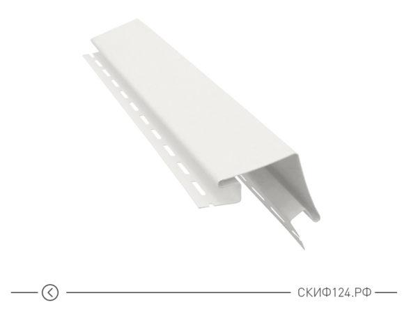 Внешний угол для винилового сайдинга Vinylon цвет белый