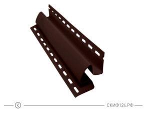 Внутренний угол для винилового сайдинга Vinylon цвет кофе