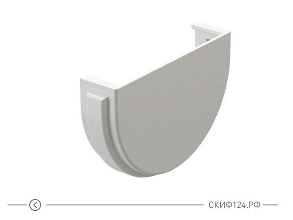 Заглушка для желоба трубы водосточной системы производителя Docke