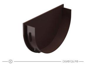 Заглушка воронки для трубы водостока цвет шоколад производителя Docke