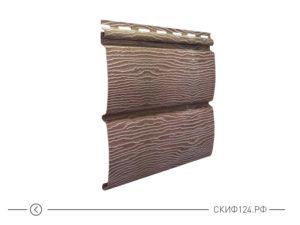 Горизонтальный сайдингTimberblock цвет дуб натуральный для фасада здания