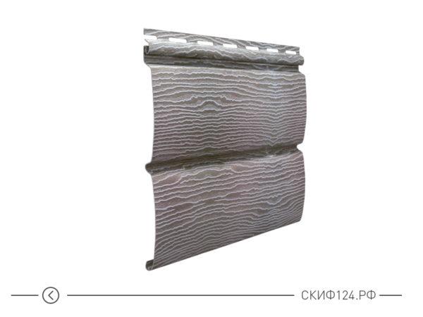 Горизонтальный сайдингTimberblock цвет дуб серебристый для фасада здания
