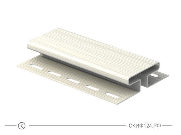 H-планка для винилового сайдинга корабельный брус Ю-Пласт