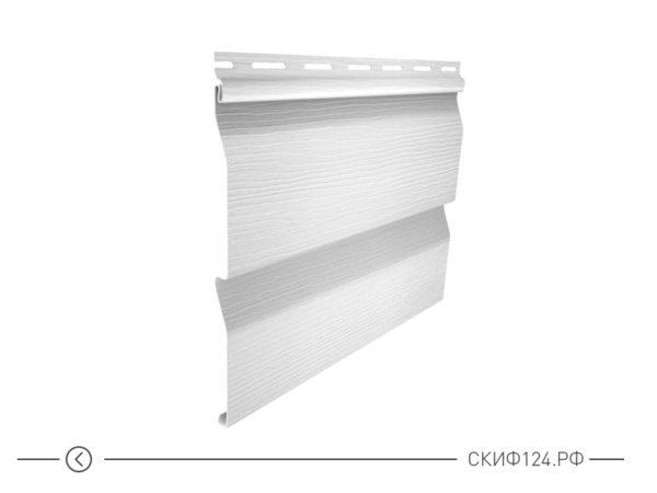 Горизонтальный сайдингкорабельный брус цвет белый для фасада здания, имитация доски