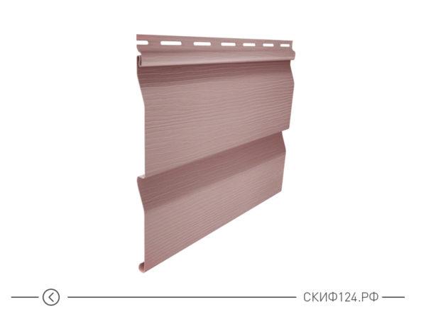 Горизонтальный сайдингкорабельный брус цвет розовый для фасада здания, имитация доски