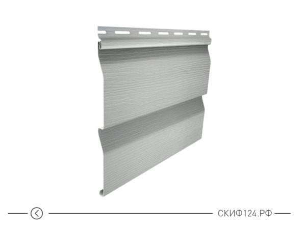 Горизонтальный сайдингкорабельный брус цвет серый для фасада здания, имитация доски