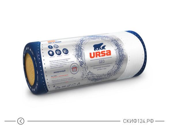 Утеплитель URSA GEO М-11Ф для утепления бани и сауны
