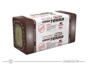 Утеплитель URSA TERRA 34 PN PRO для утепления малоэтажных домов из дерева или металла