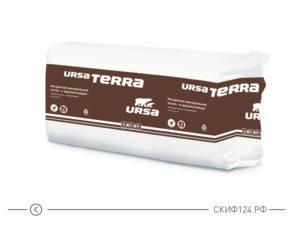 Утеплитель URSA TERRA 37 PN для утепления каркасной стены и межкомнатной перегородки