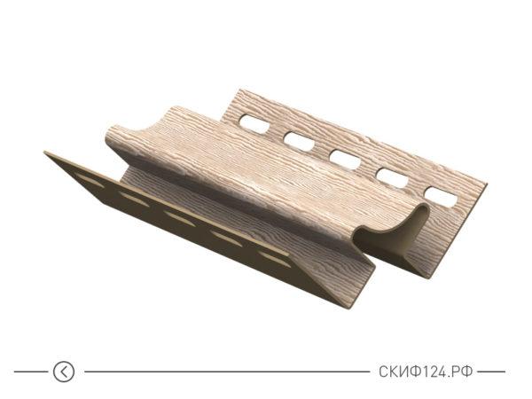 Внутренний угол для винилового сайдинга Timberblock Ю-Пласт, бревно