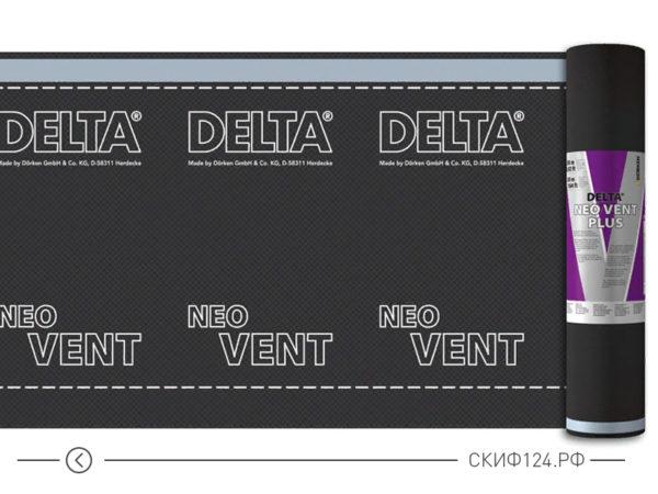 Универсальная диффузионная мембрана Delta Neo Vent для кровли и фасада