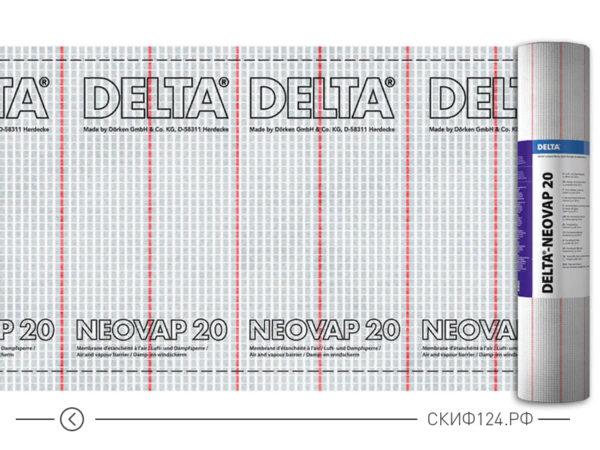 Пароизоляционная пленка Delta Neovap 20 для защиты кровли частного дома