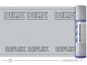Пароизоляционная пленка Delta Reflex для кровли