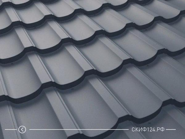Металлочерепица Трамонтана для крыши дома различных цветов