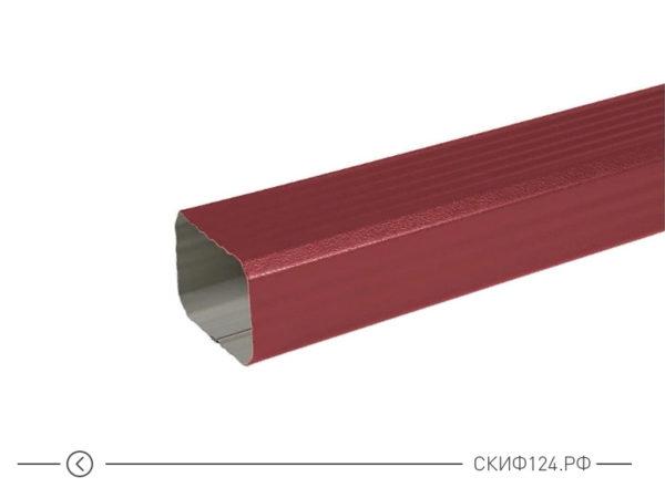 Прямоугольная водосточная труба для МП Модерн водосточной системы