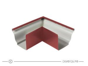 Угол желоба наружный D120x86 (135 градусов) для водосточной системы Модерн