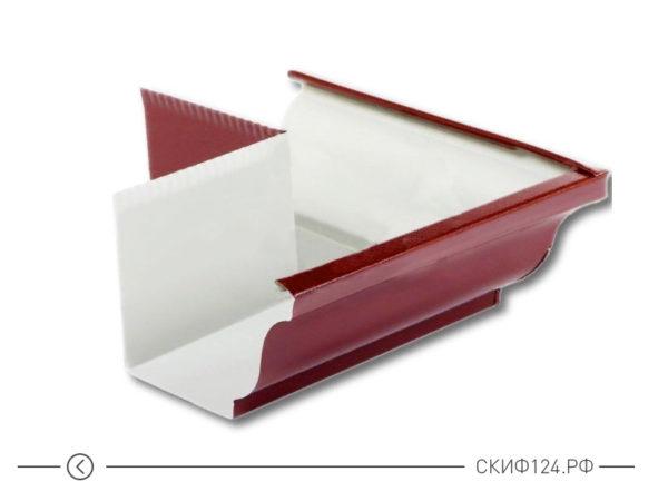 Угол желоба наружный D120x86 (90 градусов) для водосточной системы Модерн