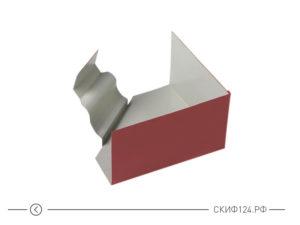 Угол желоба внутренний D120x86 (135 градусов) для водосточной системы Модерн