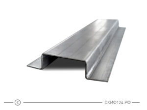 Шляпный крепежный профиль для вентилируемого фасада