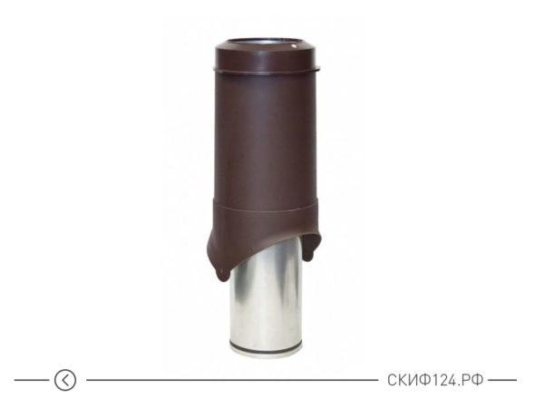Выход вентиляции Krovent Pipe-VT 125is производителя Кровент