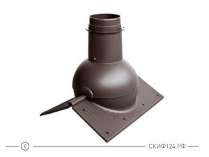 коньковый элемент Krovent Pipe - Cone для кровли от компании Кровент