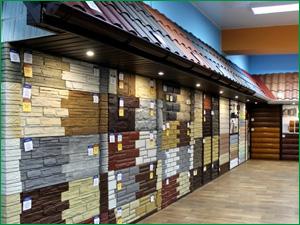 Ассортимент фасадных материалов в Красноярске